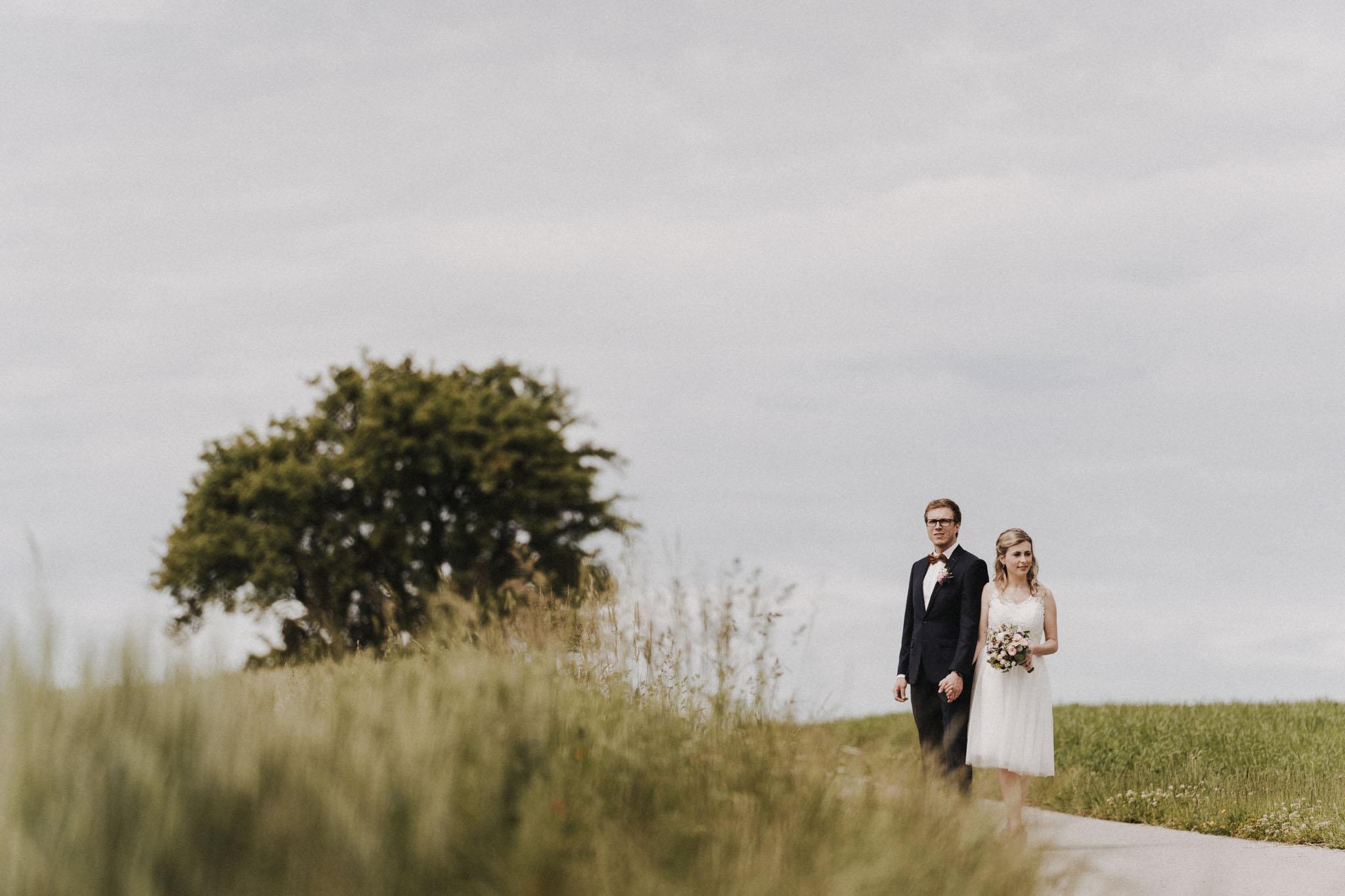 Brautpaar Shooting in Oberösterreich von Christian Biemann, Hochzeitsfotograf