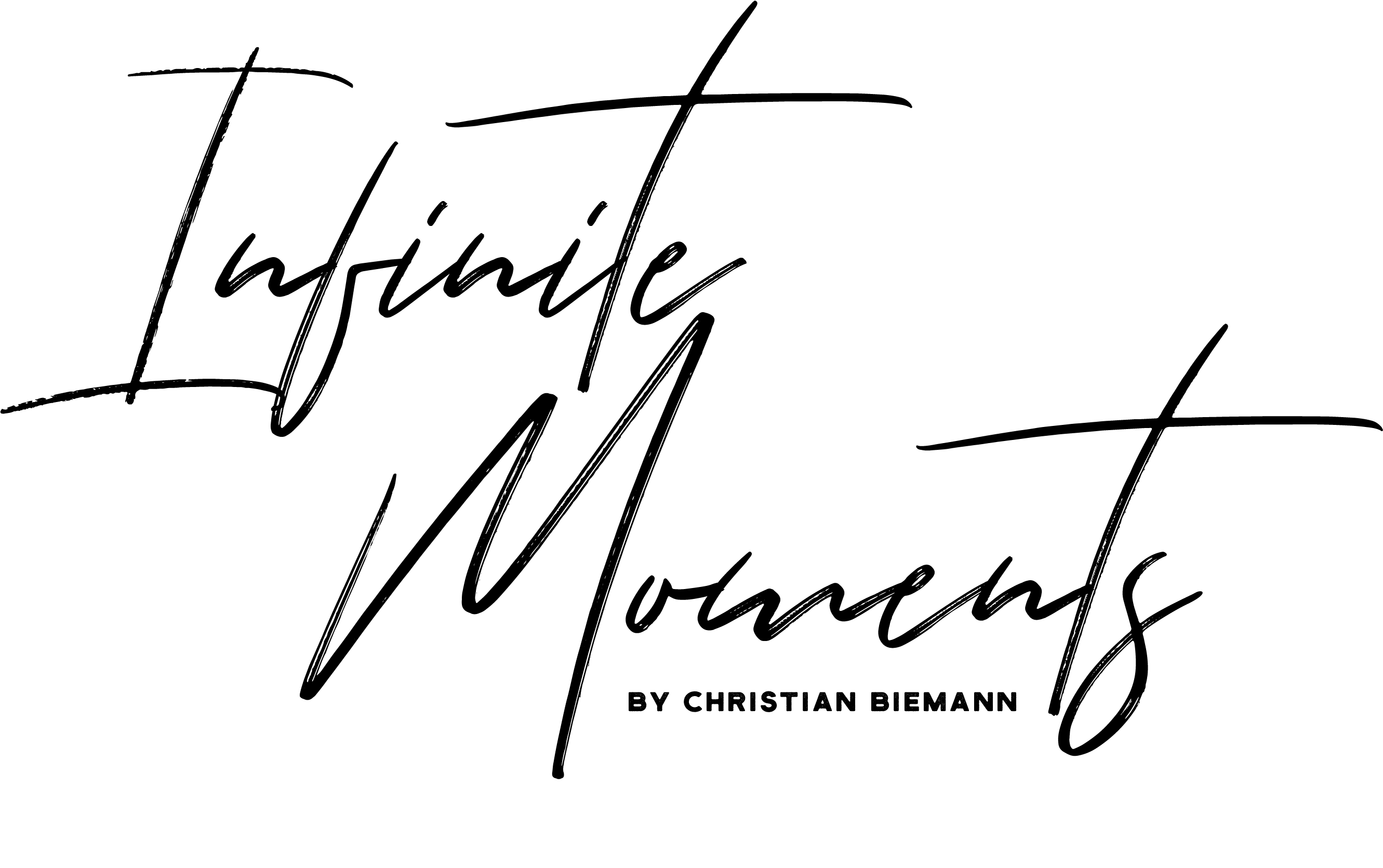 Logo infinite-moments by Christian Biemann | Hochzeitsfotografie